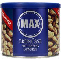Max Peanuts mustapippurilla 300 g