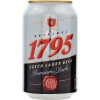 1795 Original Dark Czech Lager 4,5% 24 x 0,33 ltr.