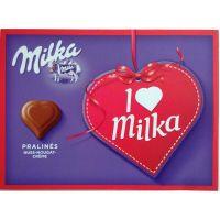 I love Milka hasselpähkinäkonvehdit 110 g