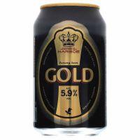 Harboe Gold Beer 5.9% 24 x 330ml