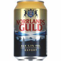 Norrlands Guld Export 5,3% - 24x33 cl