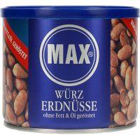 Max Spicy Peanuts paahdettu ilman öljyä 300 g