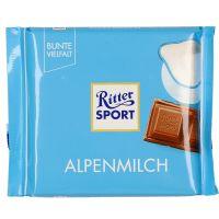 Ritter Sport Alppimaitosuklaa 100 G