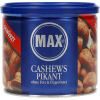 Max Cashews paahdettu ja maustettu 150 g