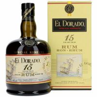 El Dorado Rom Guyana 15 years 43 %  70 cl