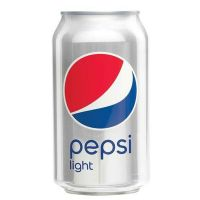 Pepsi Light 24x0,33 ltr. (Parasta ennen 10.2021)